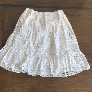 Michael Kors white skirt